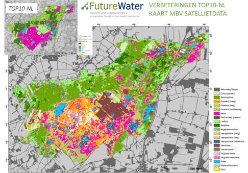 Overzichtskaart Futerewater top 10 verbeteringen